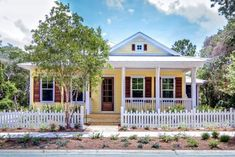 12 Charming Yellow Houses - Town & Country Living