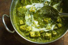 Saag Paneer with Tofu