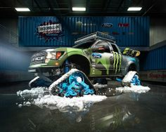 2014 Ford Snow Track Raptor.........#43 Ken Block Monster Energy Edition.  Please..........Feel Free To Drool.