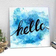 placa hello blue