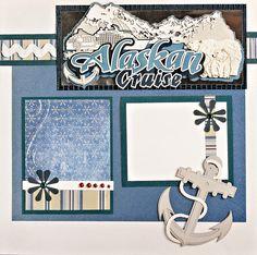 Alaskan Cruise page - Scrapbook.com