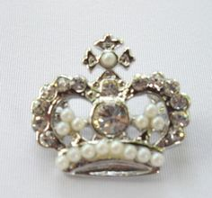 34 Best Crown Pins and Jewelry images  ed2bf6f7b125