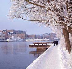 Reasons to Travel to Sweden During Winter Skeppsholmen, Stockholm.