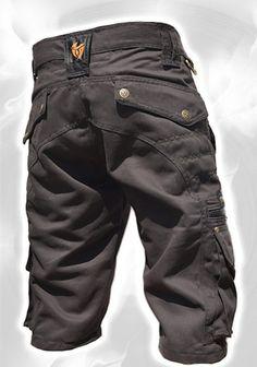 125482f48b0 Men Short Pants HipsterTribalSteampunkCargo PantsBurning Ropa Informal  Masculina, Moda Masculina, Ropa De Trabajo,