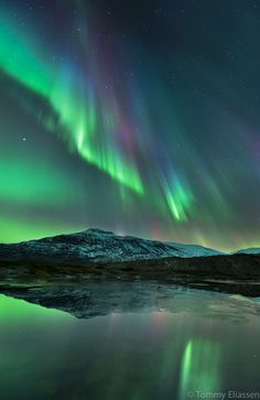 Northern lights or Aurora Borealis is a natural light display in the night skies in the high attitude regions of the Arctic.Eskimos believed it was the dance of animal spirits.