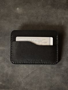 """Meet """"Ford"""", our new luxurious slim carry handmade leather wallet. Shop now at www.basandlokes.com"""