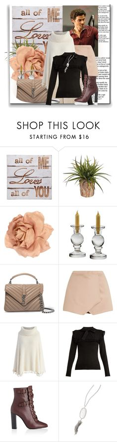 """""""ALL OF ME LOVES YOU"""" by nanni33 ❤ liked on Polyvore featuring NOVICA, Chanel, Payne, Yves Saint Laurent, Chicwish, JoosTricot, Chloé and Kendra Scott"""