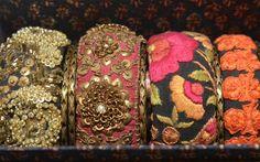 Fashion designer Sabyasachi Mukherjee's collection on display Photo: K. Ananthan