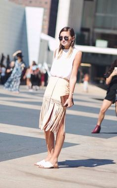 Every Nista needs a little fringe in her spring wardrobe! | Mesonista