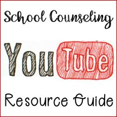 As you know kiddos love videos and incorporating some short, fun clips into your guidance lessons can be a great visual aid when teaching a key character word or lesson. When I am planning for a lesson I have an idea in my head of a video I want to show but I end up wasting precious time on Youtube School Counseling Office, Elementary School Counselor, School Social Work, Career Counseling, Elementary Schools, School Counselor Organization, School Counselor Lessons, Counseling Activities, Therapy Activities