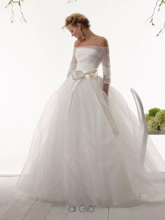 Wedding Dresses Princess Simple beautiful off the shoulder ball gown with bow wedding dress Wedding Bows, Dream Wedding Dresses, Bridal Dresses, Wedding Styles, Bridesmaid Dresses, Fall Wedding, Older Bride, Beautiful Gowns, The Dress