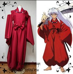 Inuyasha cosplay outfit from Inuyasha by CosplayDesu on Etsy, $160.00