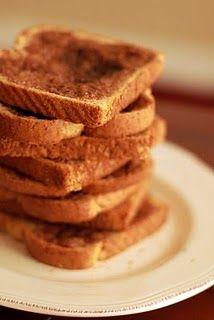 Pioneer Woman's Cinnamon Toast. I made this last weekend. AMAZING.