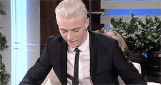 Lucky Blue Smith on the Ellen show