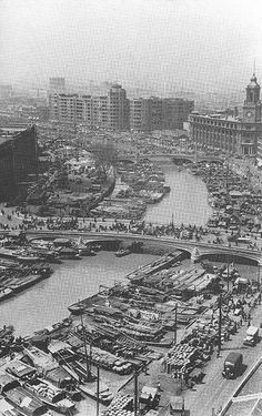 Old pictures of Shanghai, Old Shanghai Pictures, Shanghai History Pictures, China History, Information about Shanghai History