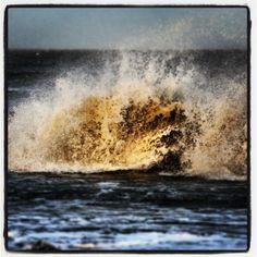 Ostseewellen im Januar - vor Skagen