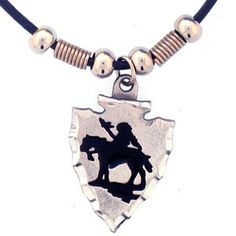"""Checkout our #LicensedGear products FREE SHIPPING + 10% OFF Coupon Code """"Official"""" Earth Spirit Necklace - Indian Chief on Arrowhead - Officially licensed Siskiyou Originals product     - Price: $17.00. Buy now at https://officiallylicensedgear.com/earth-spirit-necklace-indian-chief-on-arrowhead-pt221s"""