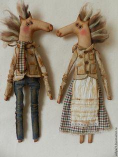 Ароматизированные куклы ручной работы. Ярмарка Мастеров - ручная работа Влюбленные коняшки. Handmade.