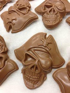 Our Halloween Chocolate Molds... www.dunmorecandykitchen.com