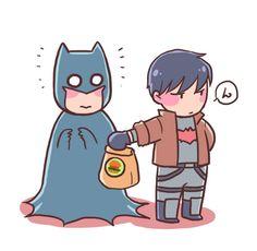 "astraea-f-blueblack: ""How to communicate with Bat-dad:) "" Jason Todd Robin, Red Hood Jason Todd, Dc Comics, Batman Comics, Superhero Family, Batman Family, I Am Batman, Batman Robin, Couples Comics"