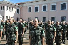 Dialogo Americas :: Mulheres iniciam formação de oficial combatente do Exército brasileiro pela primeira vez