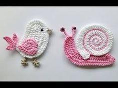 Resultado de imagen de como hacer mini apliques  a crochet