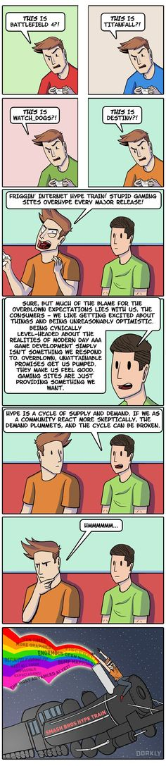 """""""The Problem with the Video Game Hype Train"""" #dorkly #geek #videogames"""