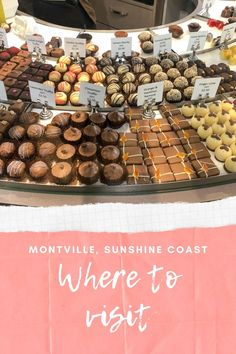 """Chocolate is happiness that you can eat."""" We love Chocolate in our house and one of our favorite things to do is to go around and find Chocolate Mills, Chocolate Factories and Chocolate shops. So we decided to give Chocolate Country in Montville Sunshine Coast"""