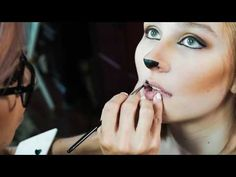 Sly Fox Makeup Tutorial | Halloween | Age Appropriate for Younger Girls - YouTube