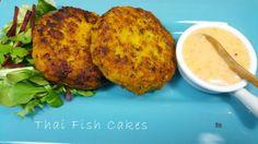 headfc Chilli Paste, Curry Paste, Thai Recipes, Asian Recipes, Thai Fish Cakes, Fishcakes, Sweet Chilli Sauce, Fresh Coriander, Tray Bakes