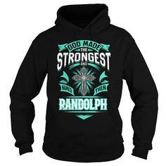 I Love RANDOLPH RANDOLPHYEAR RANDOLPHBIRTHDAY RANDOLPHHOODIE RANDOLPH NAME RANDOLPHHOODIES  TSHIRT FOR YOU T-Shirts