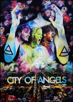 POSTER City Of Angels 30 Seconds To Mars artwork fanart by DLBss