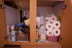 Day 16: Before. Who can find anything here? @Becky_ Organizing Made Fun™ #spontaneousorganizing