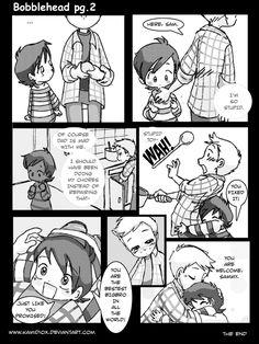 Bobblehead pg 2 by KamiDiox.deviantart.com on @deviantART