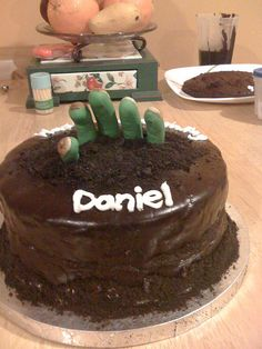 Zombie Cake, via Flickr.