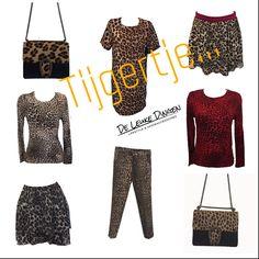 'T i j g e r' 🦁 jij vandaag nog even onze shop binnen @nijmegen? www.deleukedingen.nl #tiger #prints #bag #skirt #sweather #shirt #fashion #trendy #nijmegen #leopardprint #leopard