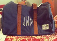 Aaaaaand the matching duffel bag!!