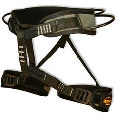 Misty Mountain Intrepid Harness. Well suited for trad, sport, and ice climbing, the Intrepid features quick adjust waist | at www.weighmyrack.com/ #rock #climbing #gear