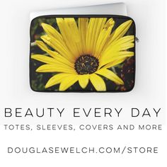 Get this laptop sleeve and many more products at DouglasEWelch .com/store | A Gardener's Notebook