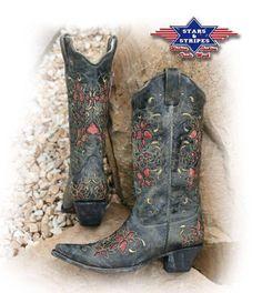 Stars & Stripes Ladie's Boots WBL-08