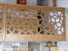 Claustra d'intérieur au motif géométrique
