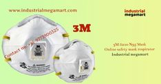 Online anti-pollution face safety mask 3M 8210 N95 respiratory, provide reliable respiratory protection of at least 95 percent filtration efficiency against certain non-oil based particles. Industrial megamart online e-commerce shopping company 3M 8210 N95 mask is leading wholesaler of wide range of safety mask products at reasonable rates and deliver these product within the mentions time frame.  3M 8210 mask respirator is compatible with a variety of protective eyewear and hearing…