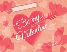 cute childrens valentines day cards perfect for childs classroom valentine exchange customize it with your childs name