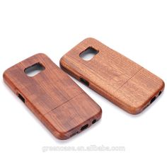 Natural Handmade Wooden/Bamboo Cell Phone Cases for Samsumg Galaxy S7
