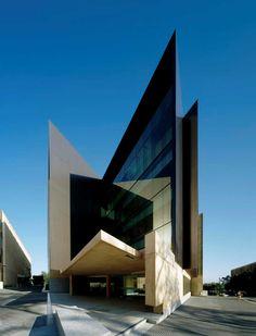 Richard Kirk Architect - Sir Llew Edwards Building, St. Lucia, Brisbane, Australia.