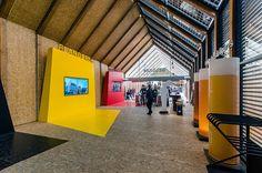 Pawilon Belgii na wystawie światowej EXPO w Mediolanie.  Belgian pavilion at the EXPO exhibition in Milan.