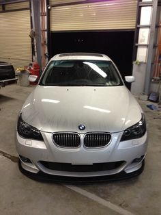 Smoked headlight BMW E60 545i