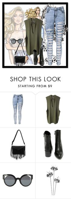 """Day-9"" by kryslyn007 on Polyvore featuring adidas Originals, Very Volatile and Fendi"