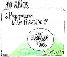10 años de la rebelión forajida en el Ecuador (que sacó a Lucio Gutiérrez del gobierno) - Bonil