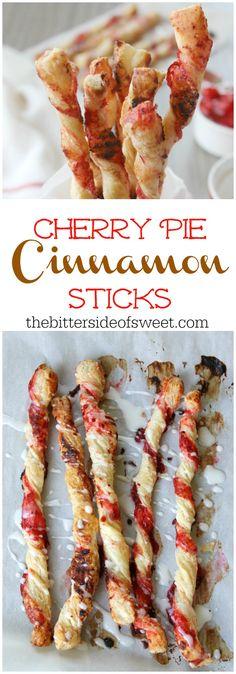 Cherry Pie Cinnamon Sticks Image